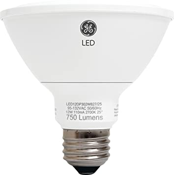 GE Lighting 89988 Energy-Smart LED 12-watt, 850-Lumen PAR30 Bulb ...