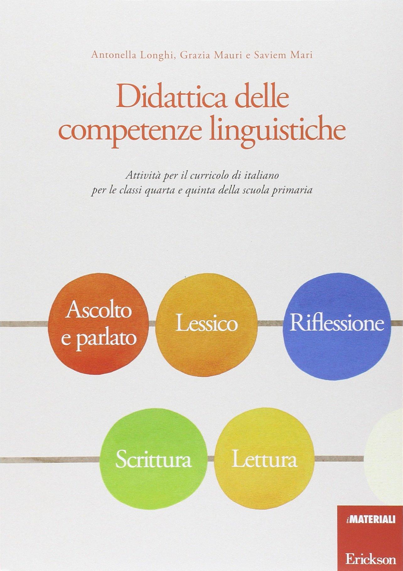 Didattica Delle Petenze Linguistiche Attivit Per Il Curricolo