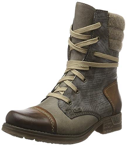 Amazon.com   Rieker Damen-Stiefelette grau 961810-9, Gr. 36   Shoes 102a261cf2