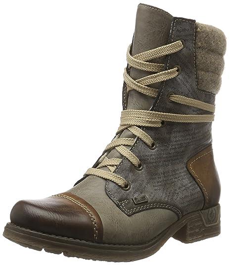 purchase cheap 16457 1bf7b Rieker Women Ankle Boots brown, (brandy/iron/cigar/wo) 79631-25