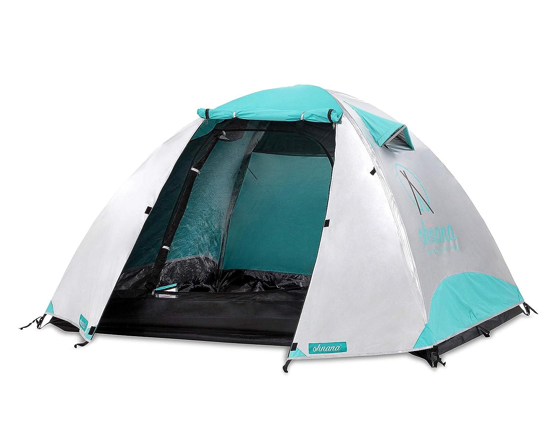 Amazon com : Ohnana Cool 2-Person, Heat-Blocking Rayve Tent  Perfect