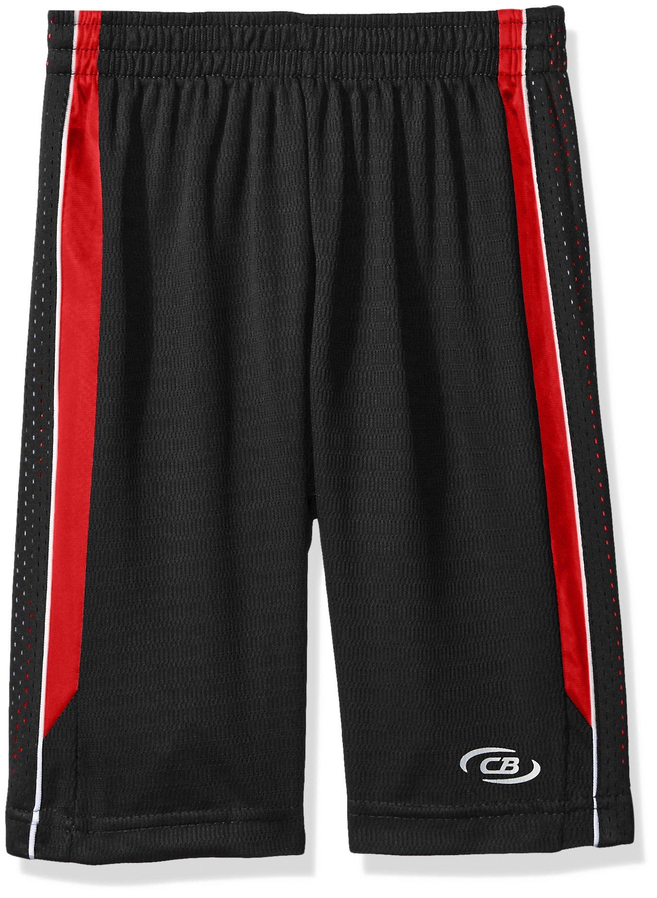 CB Sports Little Boys' Mesh Athletic Short, TL83-Engine Red, 4