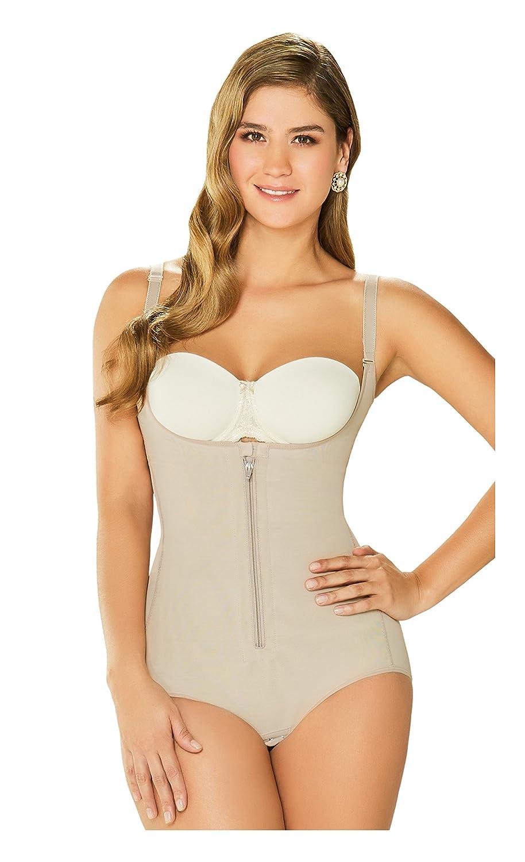 fa6b567c998 DIANE   GEORDI 2411 Powernet Bodysuit Shapewear for Women with Zipper at  Amazon Women s Clothing store