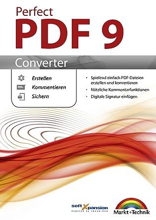 Perfect PDF 9 Converter - PDFs erstellen, konvertieren, schützen ...