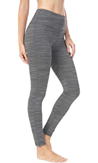 66de63514a5010 QUEENIEKE Women Power Stretch Leggings Plus Size Medium Waist Yoga Pants  Hidden Pocket Running Tights Size L…