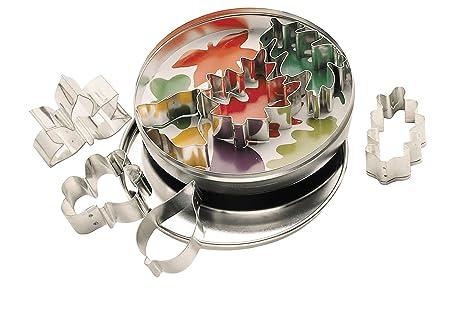 Kitchen Craft - Moldes para Galletas (7 Unidades), diseño de Hojas