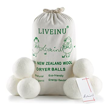 Liveinu 100 Laine Balles A Seche Linge Bio Nouvelle Zelande