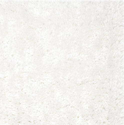 Safavieh South Beach Collection SBS562A Handmade Snow White Polyester Area Rug 2 x 3