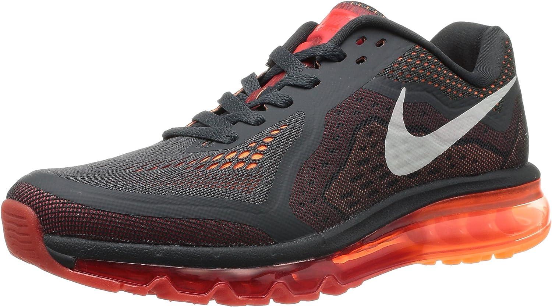 Perder Muerto en el mundo Nuevo significado  Amazon.com | Nike Air Max 2014 Men's Running Shoe, Grey/Orange, US8.5 |  Road Running