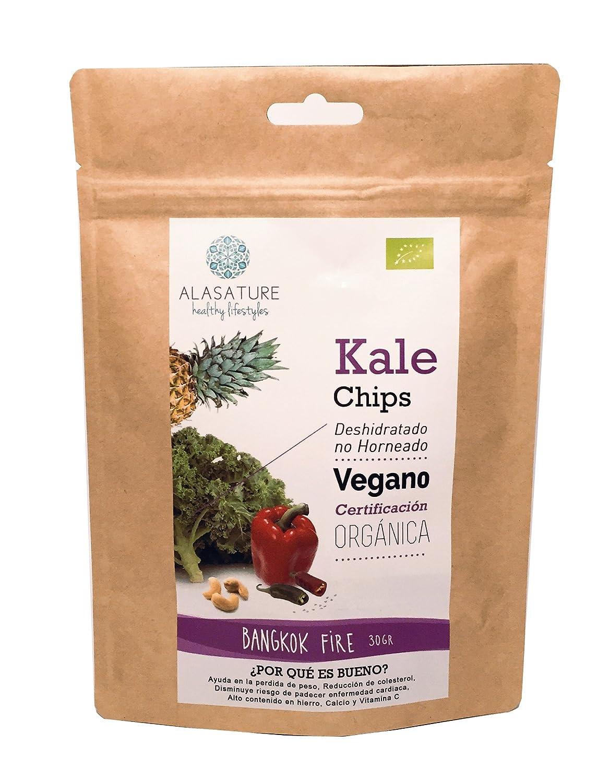 Bio Kale Chips Bangkok Fire: Amazon.es: Alimentación y bebidas