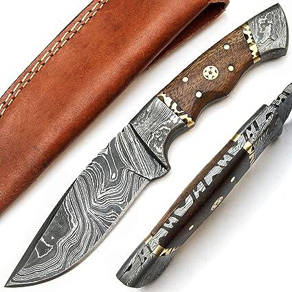 PAL 2000 9568 Cuchillo Hecho a Mano de Acero de Damasco ...