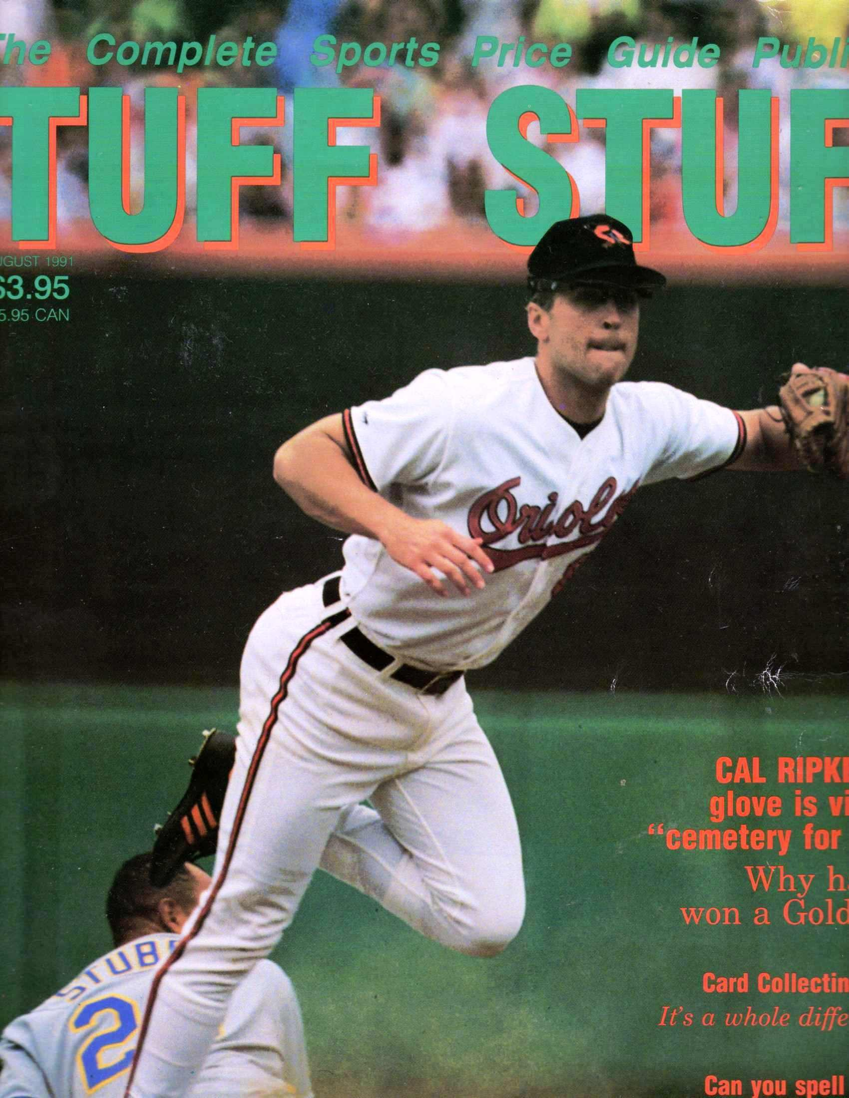 Tuff Stuff August 1991 Ripken Cover The Complete Sports