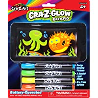 Cra Z Art Lite Up Flat Screen Dry Erase  Mini Small Glow  Board NEW 2.75 x 5.5