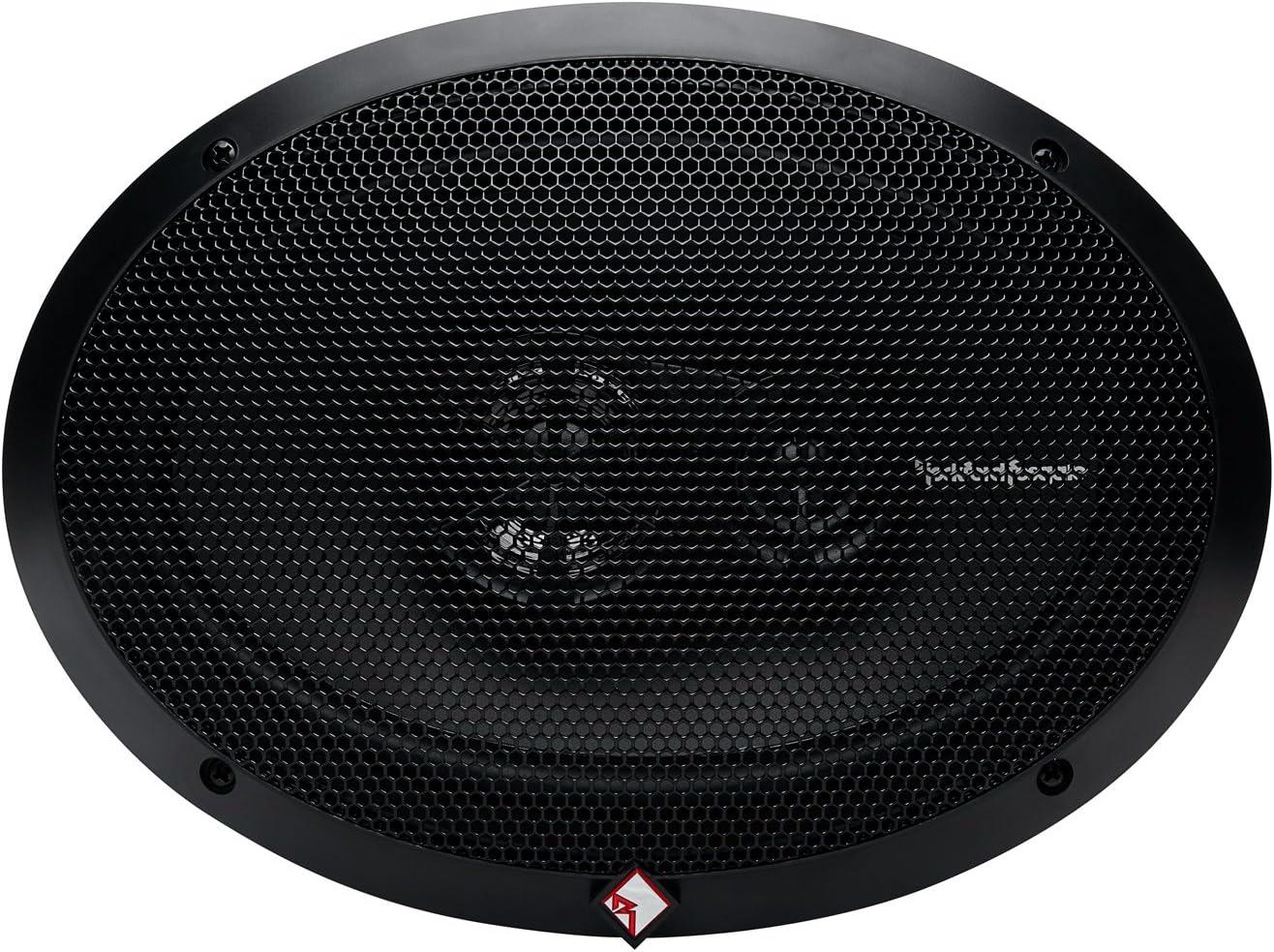 "Pair Rockford Fosgate R169X3 Prime 6/"" x 9/"" 3-Way Full-Range Coaxial Speaker"