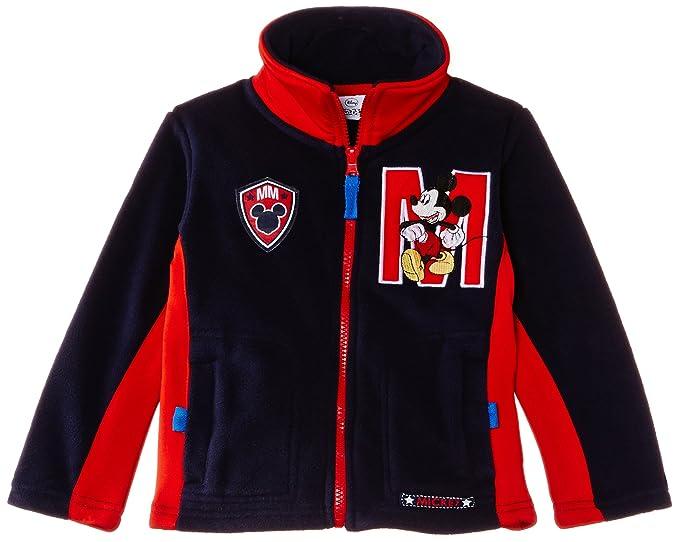 Disney Mickey Mouse Nh1098 - Sudadera para niños, Azul (Dress Blue/Red)