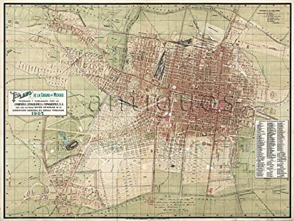 Amazon.com: MAP of MEXICO CITY Mexico (Plano de la Ciudad de México on a map of tamaulipas, a map of budapest, a map of montevideo, a map of popocatepetl, a map of nassau, a map of the holy land, a map of rio de janeiro, a map of algiers, a map of los cabos, a map of the southwest, a map of milan, a map of harare, a map of zona rosa, a map of sinaloa, a map of portland, a map of latin america, a map of roatan, a map of caracas, a map of everglades national park, a map of havana,