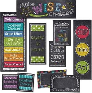 Creative Teaching Press Mini Bulletin Board, Behavior Clip Chart (6960)