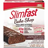 SlimFast Bake Shop Meal Replacement Bars, Chocolatey Cupcake, 300g