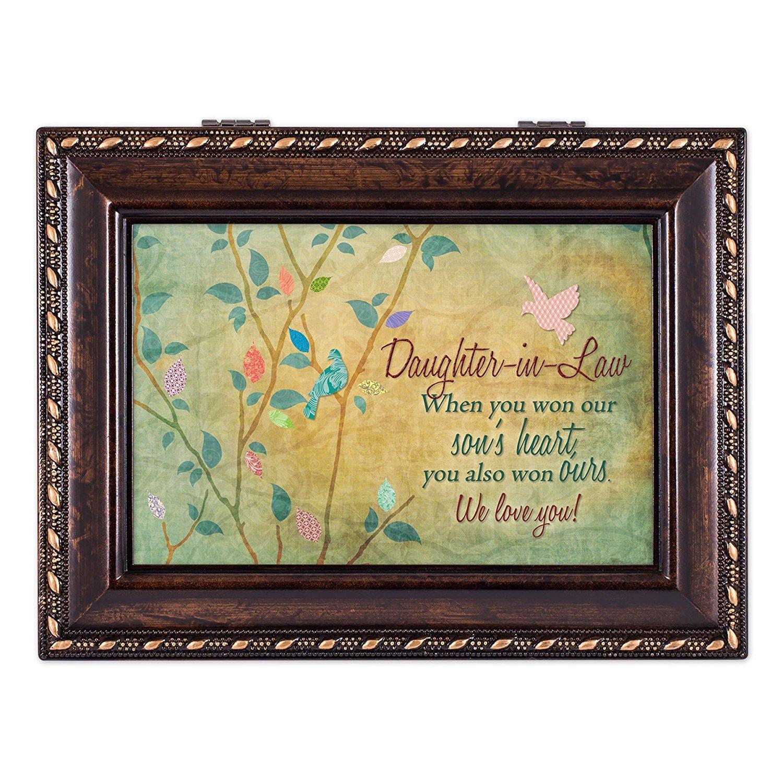 【★大感謝セール】 嫁We Love YouリッチBurl – D Wood Finishジュエリー音楽ボックス – Plays Tune Pachelbel Pachelbel 's Canon in D B00TFTA7D2, ペアジュエリー テラグラティア:b53bd9e2 --- arcego.dominiotemporario.com