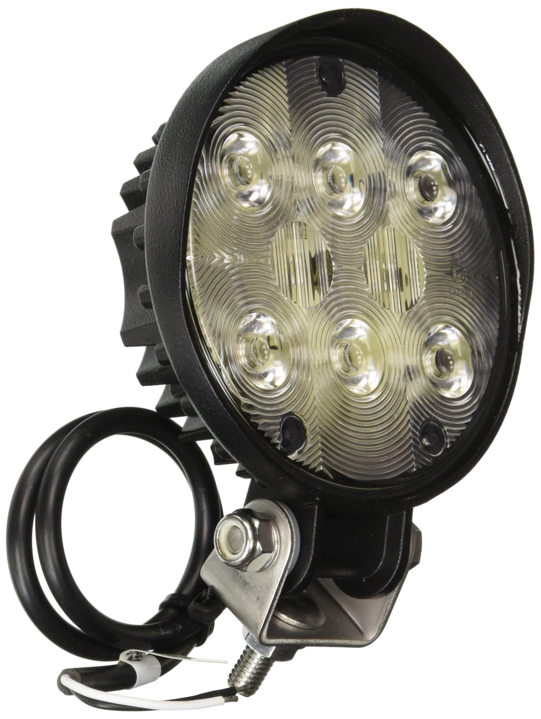 Wesbar 54209-001 Round Auxiliary LED Work Light with Mounting Stud by Wesbar