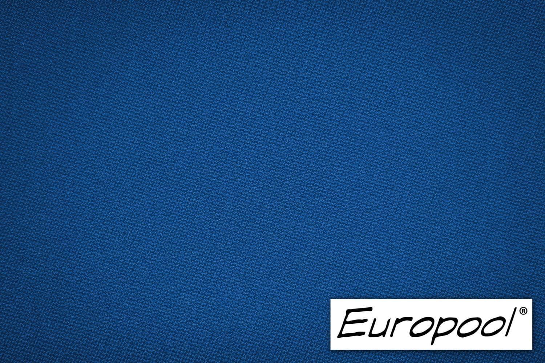 Europool Billardtuch Tuchfarbe Champion Blue zugeschnittenes Komplettset Tischgr/ö/ße 7 ft