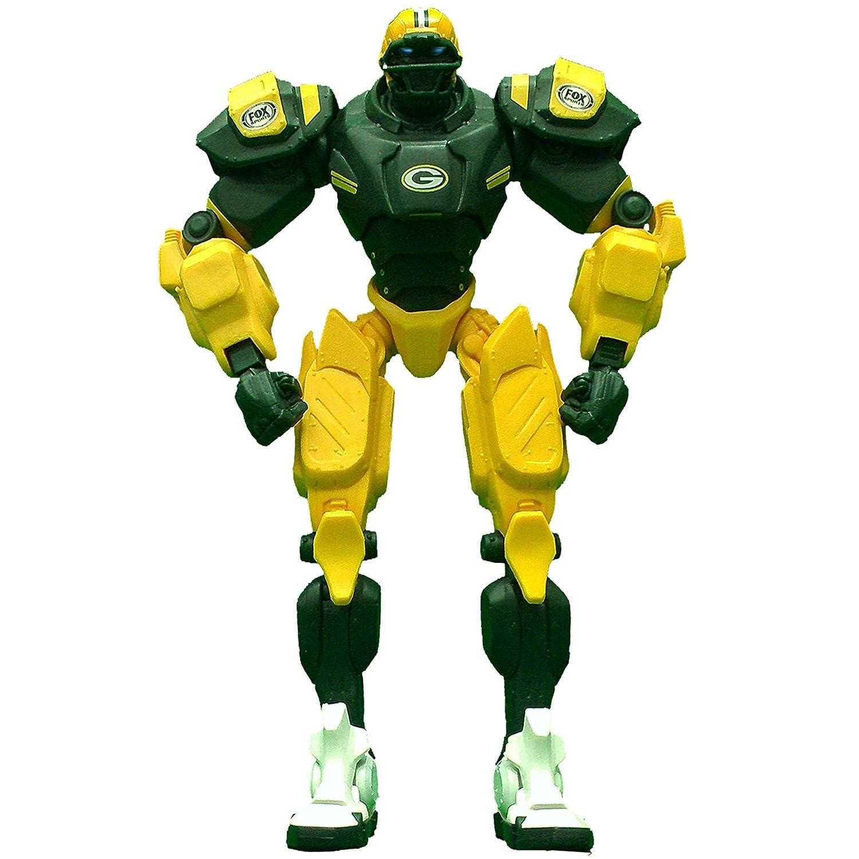 Green Bay Packers 25cm Team Cleatus FOX Robot NFL Football Action Figure Version 2.0   B01N0AP4J0