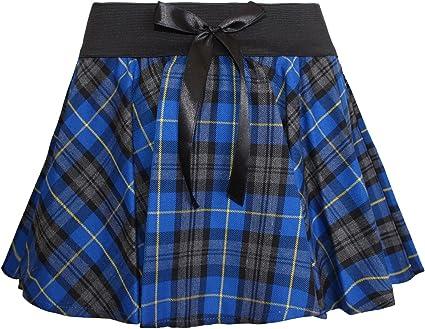 Zeetaq Girls Ladies School Drop Waisted Hand Pleated Skirt UK Age 2-16 Years