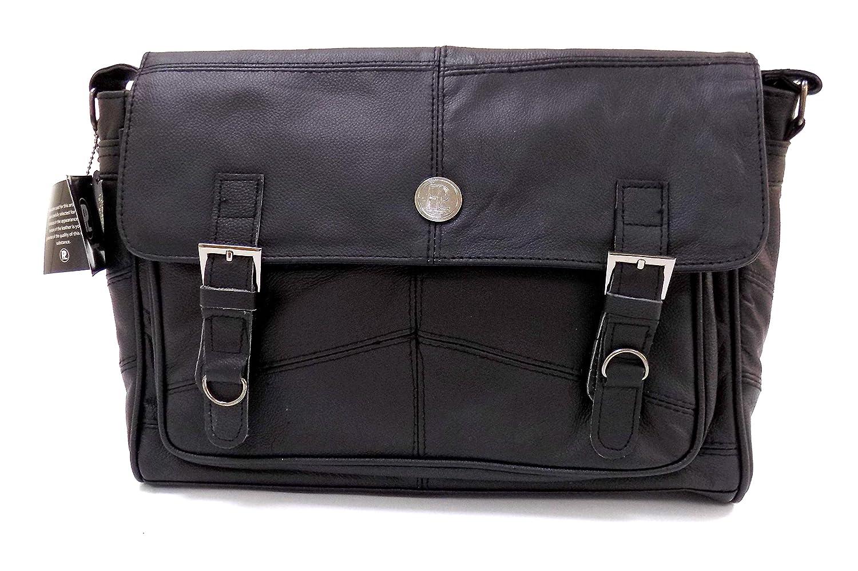 Men's Soft Leather Satchel / Shoulder Messenger