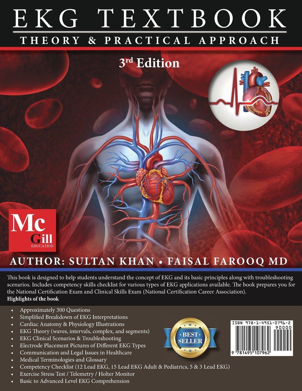 EKG Textbook: Theory & Practical Approach (EKG Textbook & EKG Study ...