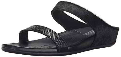 d119546e9 fitflop Women s Banda Micro Crystal Slide Dress Sandal  Amazon.ca ...