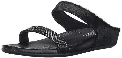 12968be52 fitflop Women s Banda Micro Crystal Slide Dress Sandal  Amazon.ca ...