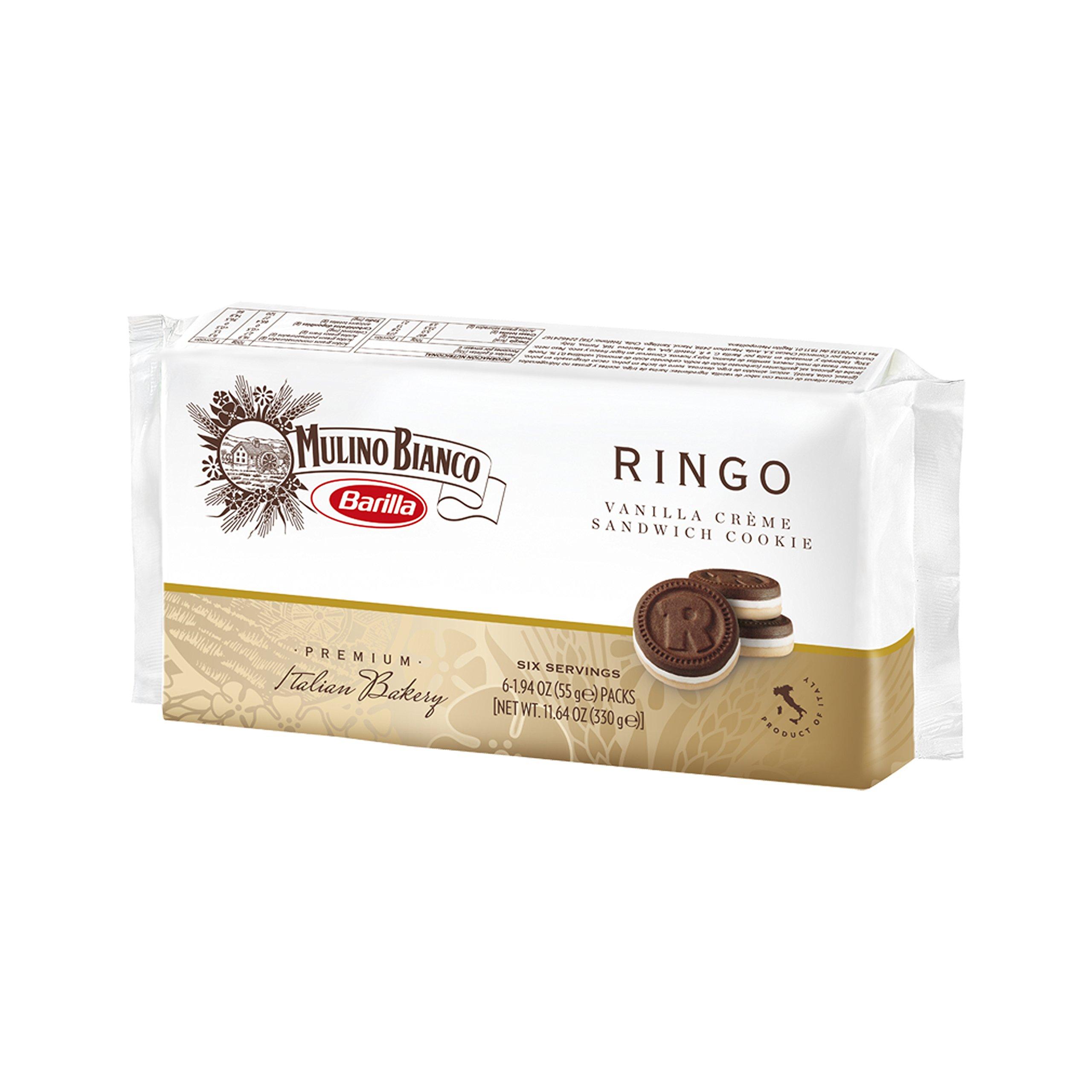Mulino Bianco Ringo Cookie 11 6 Ounce Amazon Grocery