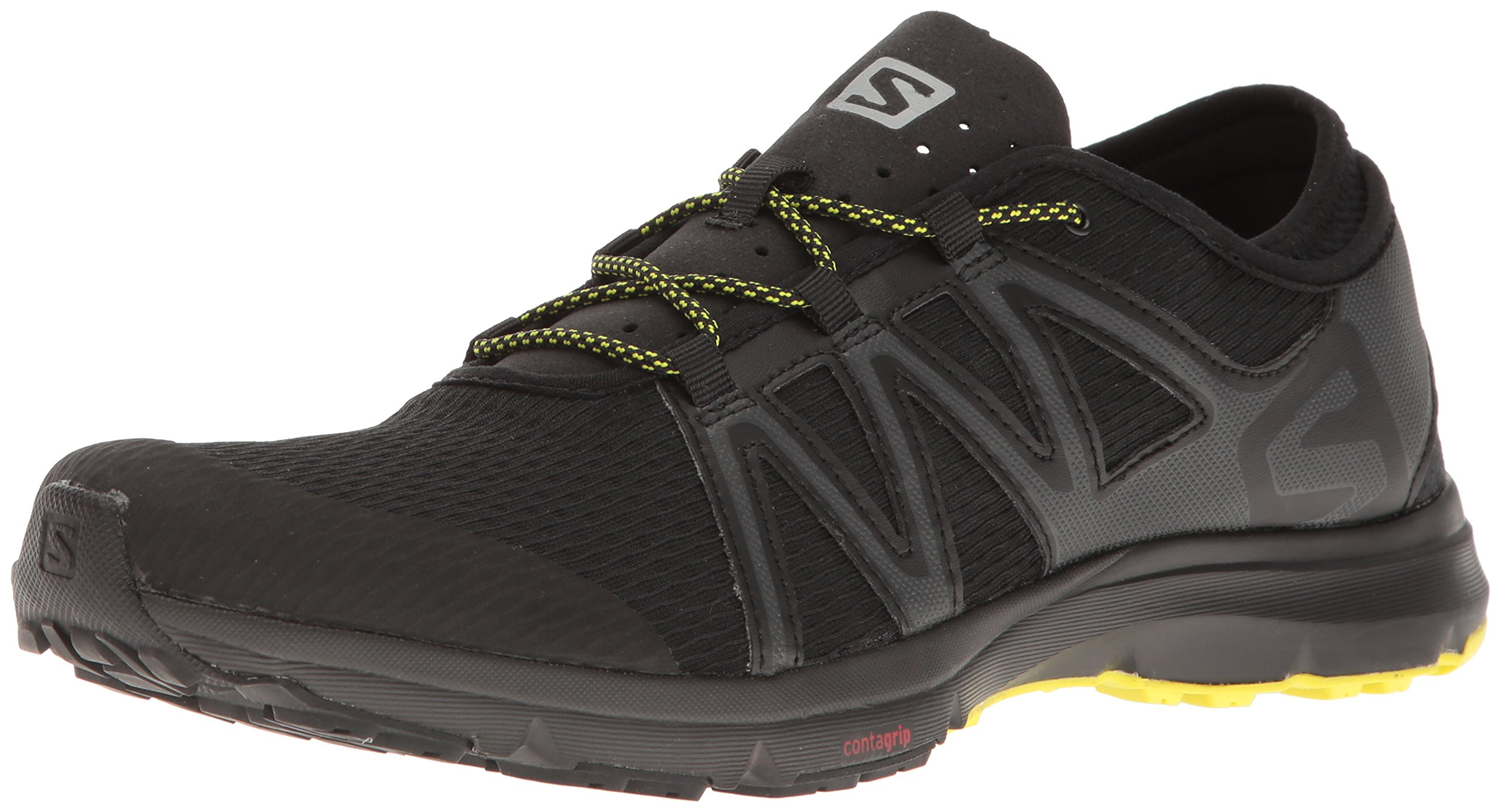 Salomon Men's Crossamphibian Swift Athletic Sandal, Black, 12 M US