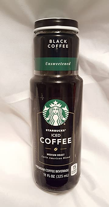 Starbucks Iced Coffee 6 11oz Bottles Black Coffee