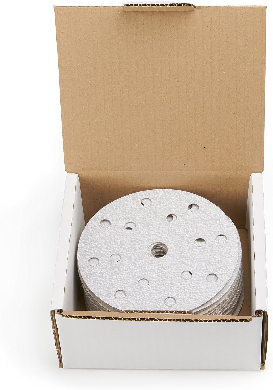 Disques abrasifs pour vernis 150/mm /Ø 50/pi/èces de wabrasive /& # x2022; Papier abrasif velcro 0/Disques abrasifs Velcro /& # x2022; Papier abrasif pour le Ponceuse excentrique