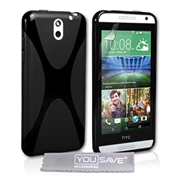 Yousave Accessories® - Carcasa para HTC Desire 610 (Silicona ...