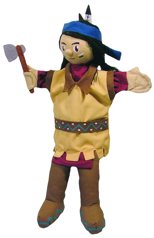 Au Sycomore - Indiano Marionetta con Gambe, 35 cm MA35030
