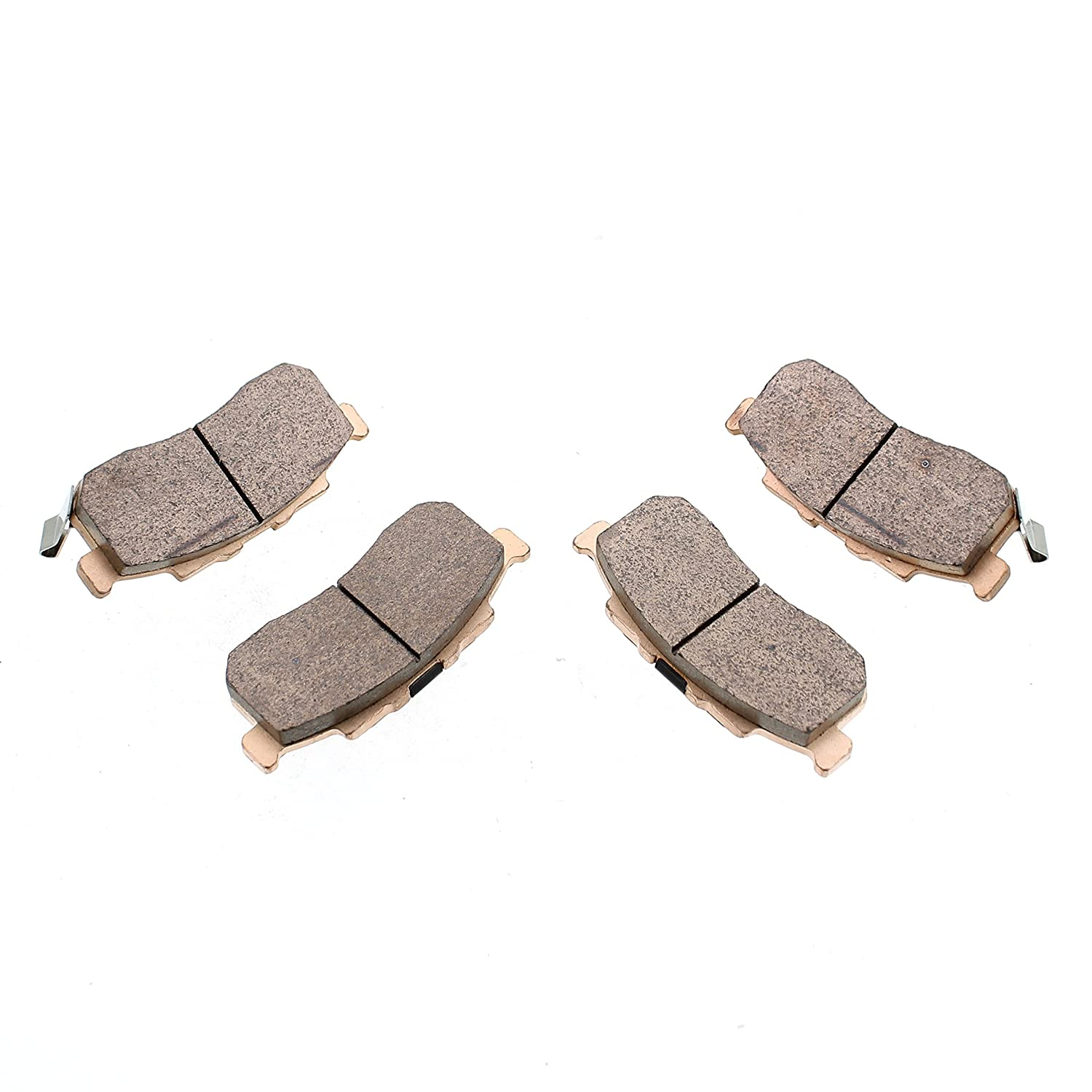 Brake Pads fits Honda Pioneer 500 SXS500 2015-2017 Front Severe Duty Race-Driven