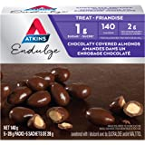 Atkins Endulge Treats - Chocolaty Covered Almonds, 1g Sugar, KetoFriendly - 5-Count