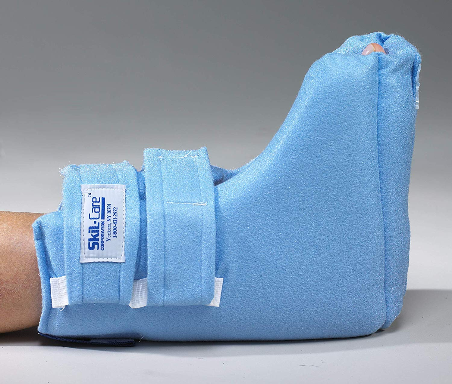 Heel-Float Heel Protector - Heel Cushion For Foot Injuries (Large/Extra Large) by Skil-Care