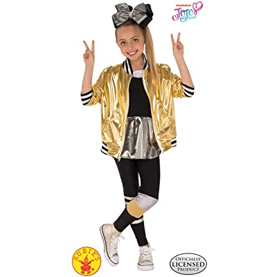 Rubie's JoJo Siwa Child's Costume Dancer Outfit, Large, Multicolor, Large: Toys & Games