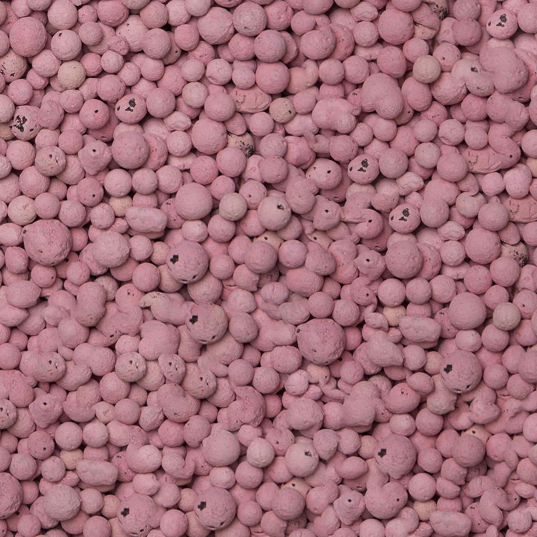 BrockyTony 740ml Aktiv /& Decoton 4-8 mm Rosa Deko Blähton Granulat Topf pink