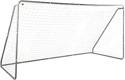 b7fe70791 AmazonBasics Soccer Goal Frame With Net - 12 x 6 x 5 Foot, Steel Frame