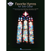 Favorite Hymns for Solo Guitar (Fingerstyle Guitar) book cover