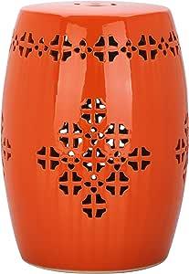 Amazon Com Safavieh Acs4535d Quatrefoil Ceramic