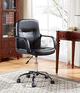 EBS My Furniture Silla Ejecutiva Oficina Escritorio Básica Económica Altura Ajustable Reposabrazos…