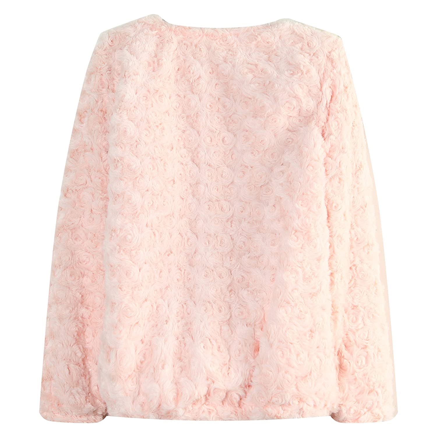 Richie House Girls Trendy Pullover with Flowers RH1439