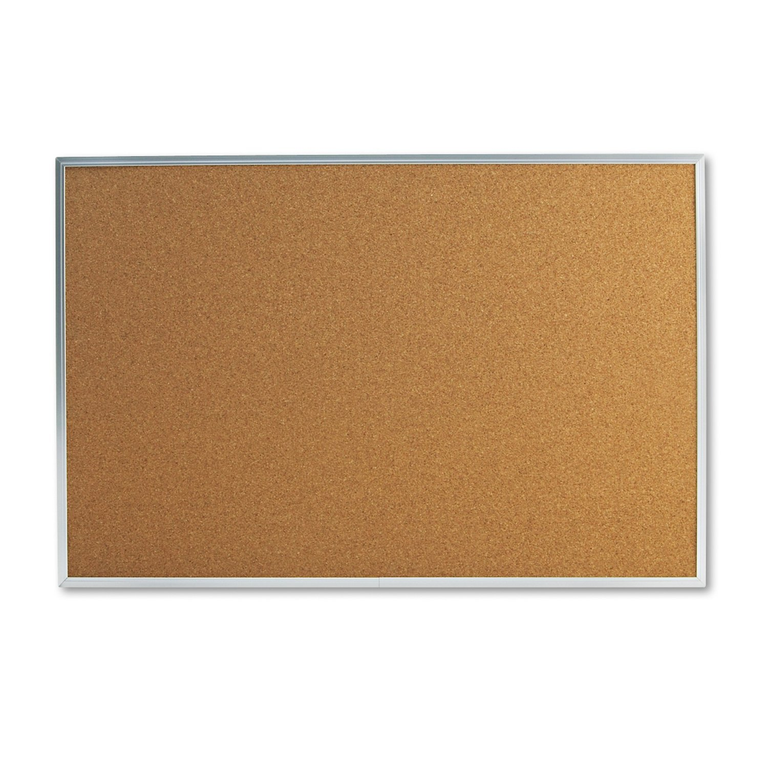 universal 43613 bulletin board natural cork 36 x 24 satin finished aluminum frame bulletin boards