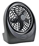 Amazon Price History for:O2COOL Portable 5 Inch 2-Speed Directional Airflow 4 D Battery and AC Powered Table Fan (adapter not included)