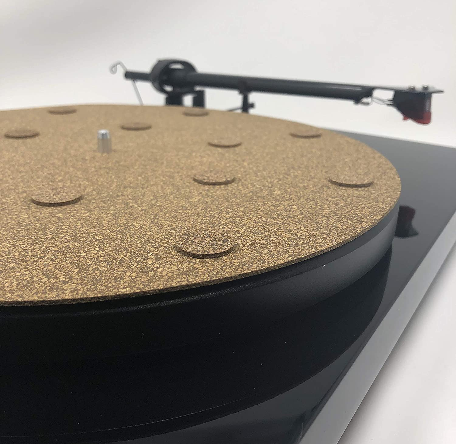 CoRkErY Decoupled Cork N Rubber Turntable Platter Ma